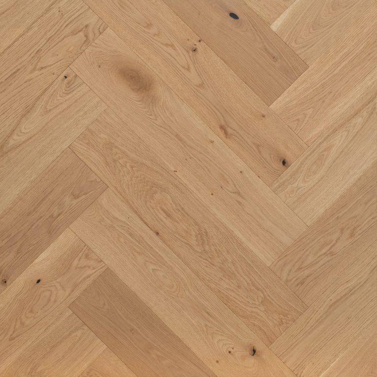 Grand Oak - Herringbone - Natural Oak